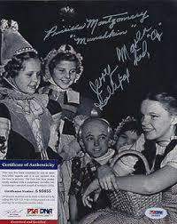 PSA/DNA SIGNED 8X10 Photo Priscilla Montgomery (Wizard Of Oz) 4179 - $59.99  | PicClick
