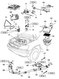 similiar 1999 lexus es300 engine belts keywords 2002 lexus rx 300 engine diagram image wiring diagram engine