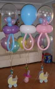 Baby Bottle Balloon Decoration Baby Shower Decorations With Balloons 60 with Baby Shower 48