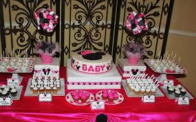 Minnie Mouse Baby Shower Decorations Baby Shower Food Ideas Baby Shower Ideas Minnie Mouse Theme