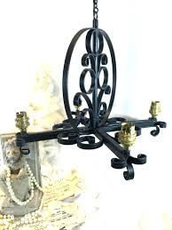 full image for antique wrought iron lighting antique wrought iron candle chandelier antique wrought iron lighting