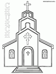 Small Picture Church Coloring Page Download Free Church Coloring Page For Kids