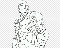 Coloring pages of iron man, one of the superhero's from de avenger movies. Iron Man Coloring Book Drawing Captain America Superhero Iron Man Marvel Avengers Assemble Angle White Png Pngwing