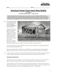 Commonlit answers are usually available only to scrambling africa and the aftermath. American Dream Faces Harsh New Reality Commonlit Answers Fill Online Printable Fillable Blank Pdffiller