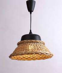 10518 hand crafted elegant black metal and wicker material shade 1 light diy pendant with black suspension globe not included