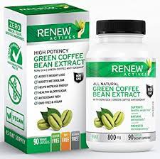 Although in small amounts, green coffee bean extract does contain caffeine. Amazon Com Renew Actives Coffee Bean Extract 800mg Green Coffee Bean Extract Capsules Vegan Green Coffee Bean Powder Extract Supplement With 50 Gca To Boost Metabolism And Energy 90 Pills Health