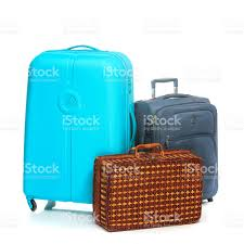 modern suitcases