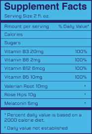 ichill nutritional facts