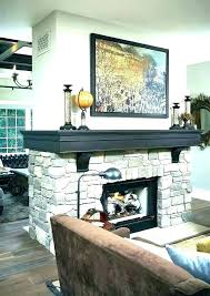 2 sided outdoor fireplace double insert