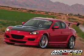 mazda rx8 modified red. modp_0901_102006_mazda_rx8_base_6mtdrivers_side mazda rx8 modified red