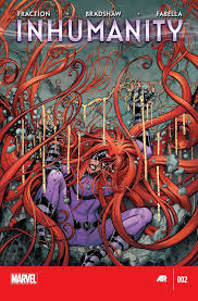 we have medusa s grief at the loss of her husband black bolt and her son ahura there is captain america ing