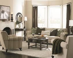 traditional living room furniture. Bernhardt Brae Elegant And Traditional Living Room Sofa With High End Furniture Style | Wayside I