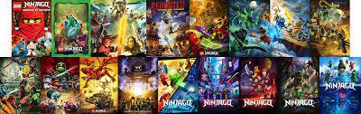 All the Ninjago season posters: Ninjago