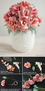 Diy Paper Flower Diy Paper Flowers The Budget Decorator