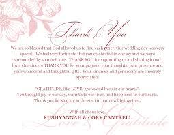 Thank You Card Creative Ideas Bridal Thank You Cards Wedding