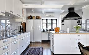 interior design kitchen white. Beautiful Kitchen Modern White Kitchen Interior Design Ideas Throughout E