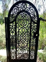 used wrought iron gates rod iron gate for metal garden gates for metal gate