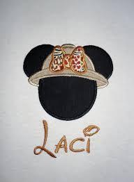 Safari Mickey Applique Design Minnie Mouse Safari Applique T Shirt Personalized In