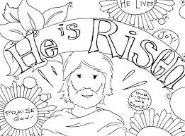 Preschool Easter Coloring Pages Printable - Happy Easter Sunday