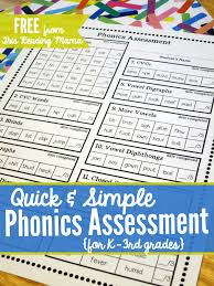 Printable worksheets for teaching students to read and write basic words that begin with the letters br, cr, dr, fr, gr, pr, and tr. Free Phonics Assessment For K 3rd Grades
