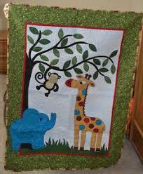 9pcs Appliqued 3D Jungle Animals Boy Baby Cot Crib Bedding set 6 ... & Jungle Quilt. $80.00, via Etsy. Adamdwight.com