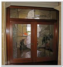 french doors interior beveled glass photo 4