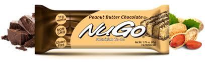 picture of nugo peanut er chocolate 15 bars