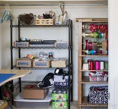 home office makeover. Home Office Makeover Closet View.