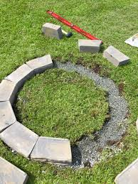 remodelaholic diy retaining wall block fire pit blocks for fire pit