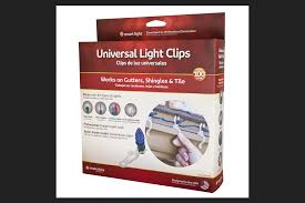 Simple Living Solutions Light Clips Simple Living Solutions 712100 Universal Light Hanger Clips