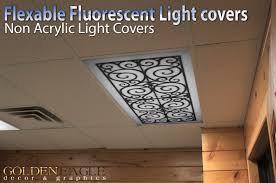wrought iron black white grey marble 2ft x 4ft drop ceiling fluorescent decorative ceiling light cover skylight com