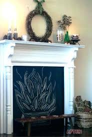 fake mantel faux fireplace ideas mantel fake