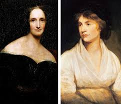 r tic outlaws about the lives of mary wollstonecraft and mary  a literary legacy mary shelley left and her mother mary wollstonecraft credit left richard rothwell national portrait gallery london