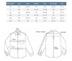 Image Result For Mens Shirt Measurement Chart Dress Shirt