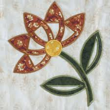 Free Applique Patterns | the flower in this quilt with fusible ... & Free Applique Patterns | the flower in this quilt with fusible applique—the applique  pattern Adamdwight.com