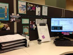 Regaling Image With Cubicle Decor With Cubicle Decor Then Workspace Home  Designing And Idea in Cubicle