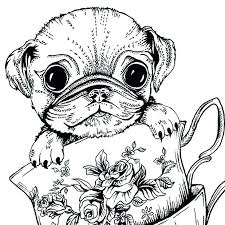 pug coloring pages sad pug coloring picture wonderful action pages free printable epic pug coloring pages pug coloring pages