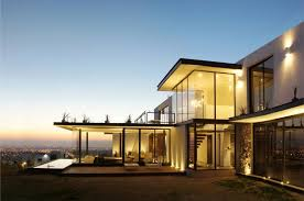 view modern house lights. Perfect Interior Lighting House With The City Views View Modern Lights A