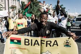 In remembrance of Biafra; half of a yellow sun