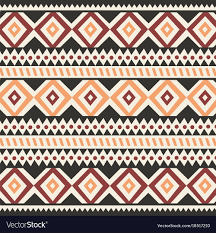 Bohemian Pattern Amazing Tribal Ethnic Colorful Bohemian Pattern Royalty Free Vector