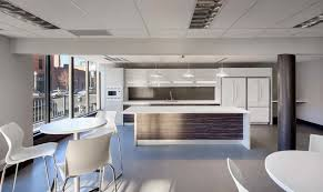 office kitchen. Unique Office Commensurate With The Corporate Environments His Kitchens Anchor U201cIt  Comes Same Attention To Detail And Customization As Veselbrandu201d He Said On Office Kitchen