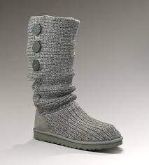 UGG Classic Cardy Boots 5819 Grey Popular