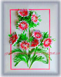 Paper Flower Frame A Journey Into Quilling Paper Crafting Quilled 3d Flower Frame