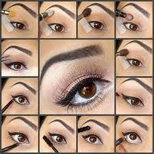 cute easy ways to do eye makeup