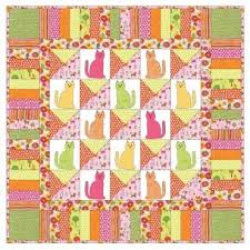 375 best Quilts - Cats images on Pinterest | Kid quilts, Cat and Cats & #Kitty-Kitty #Quilt and you'll be Adamdwight.com