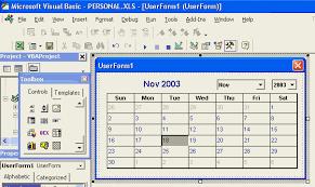 Make Calendar In Excel Excel Calendar Excel Calendar Vba Excel Calendar