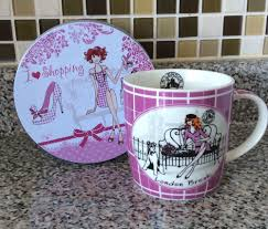 Easy Life Design Coffee Mugs Divas London Break Easy Life Design Lady Bench Dog Coffee