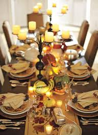 Decorating: Gorgeous And Awesome Thanksgiving Table Settings - Dressers