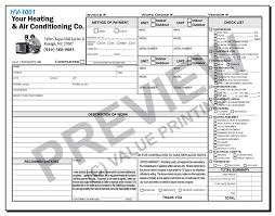 Contractors Invoice Template Fascinating HVAC Forms