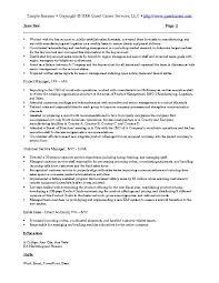 Marketing Resume Examples Awesome Sales And Marketing Resume Sample Musiccityspiritsandcocktail